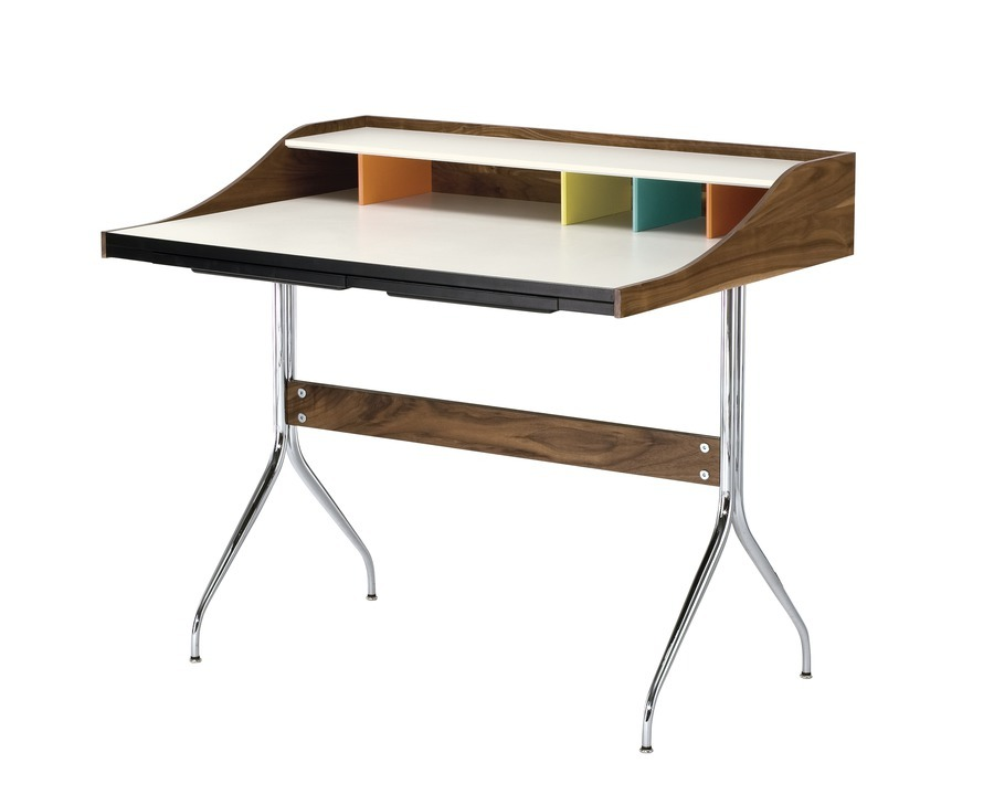 Nelson Swag Leg Desk viewed at angle