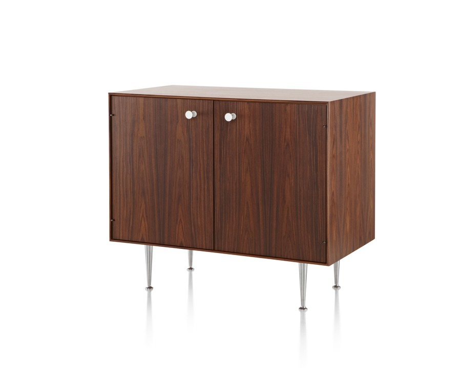 Nelson Thin Edge cabinet viewed from the front at an angle