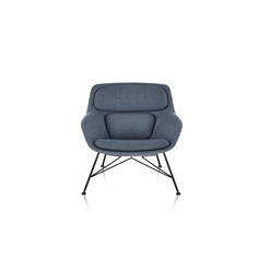 Striad Lounge Chair and Ottoman thumbnail 3